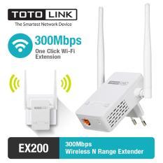 Spesifikasi Extender Repeater Wireless 300Mbps Totolink Ex200