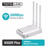 Beli Router Wireless N 300Mbps 4 Lan Port Totolink N302R Plus Seken