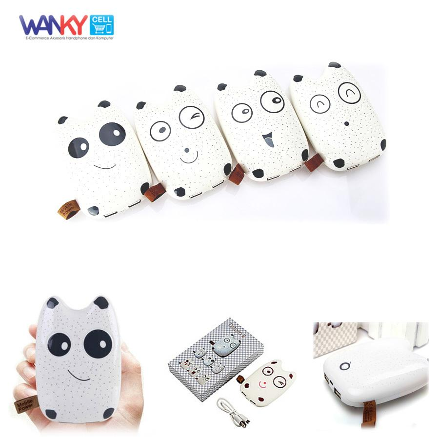 Totoro Ii Power Bank Dual Output Mobile Power 12000Mah Putih Indonesia Diskon 50