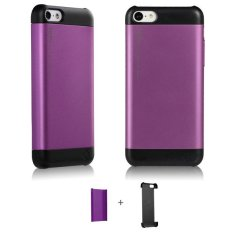 TOTU - Primary Color - iPhone 5C - Hitam / Ungu
