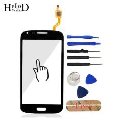 Touch Front High Glass Screen Digitizer Panel untuk Samsung GALAXY CORE Duos I8262 I8260 Lensa Sensor FLEX Cable + Free Alat Perekat