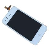 Katalog Layar Sentuh Digitizer Layar Lcd Perakitan Tombol Rumah Untuk Iphone 3G Putih Terbaru
