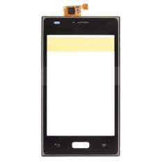 Layar Sentuh Digitizer dengan Frame Housing Bagian Pengganti LG Optimus L5 E610 E612-Intl