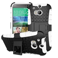 Tough Heavy Duty Shock Proof Defender Cover Dual Layer Armor Combo Pelindung Hard Case Cover For HTC One (M8) 5.0 Inch