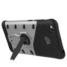 Tough Heavy Duty Shock Proof Defender Cover Dual Layer Armor Combo With Swivel Kickstand Protective Hard Cover Case For Xiaomi Redmi 4X