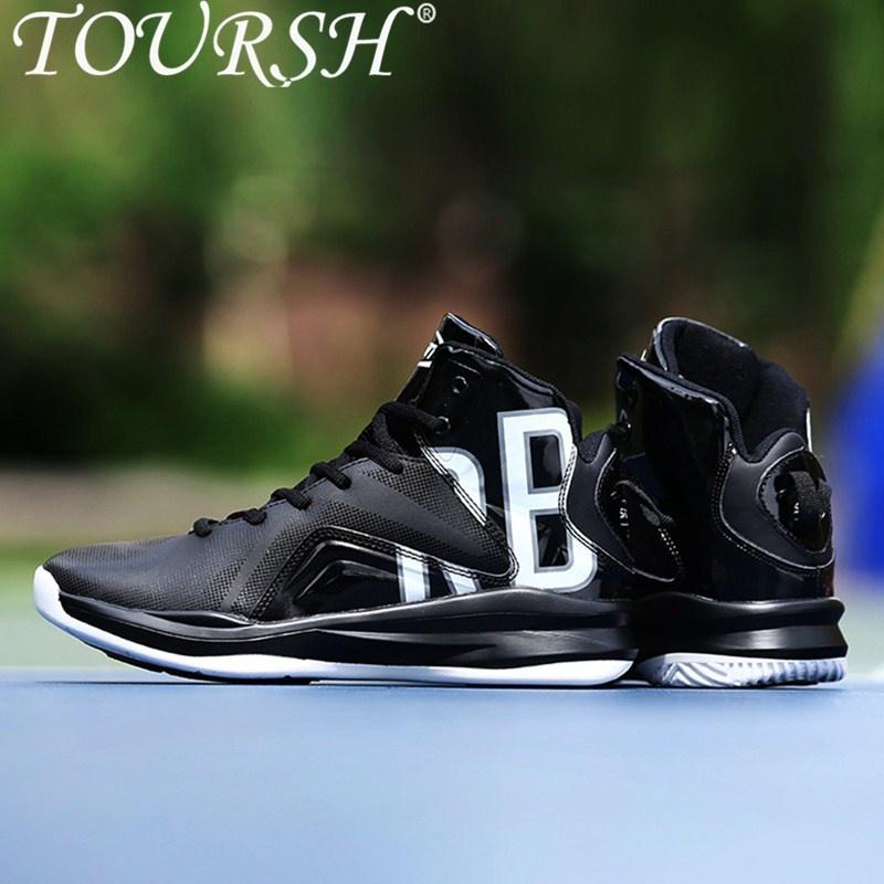 Harga Toursh Sepatu Basket Pria Bola Basket Karet Boots Shock Penyerapan Bernapas Sepatu Atletik Olahraga Sneakers Untuk Bola Basket Sepatu Lari Intl Toursh Original