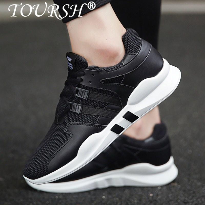 Review Tentang Toursh Sepatu Lari Pria Sneakers Net Wajah Bernapas Olahraga Berjalan Sepatu Olahraga Intl