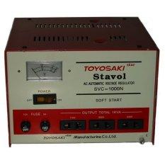 Iklan Toyosaki Svc 1000N Stabilizer 1000Va Merah Putih