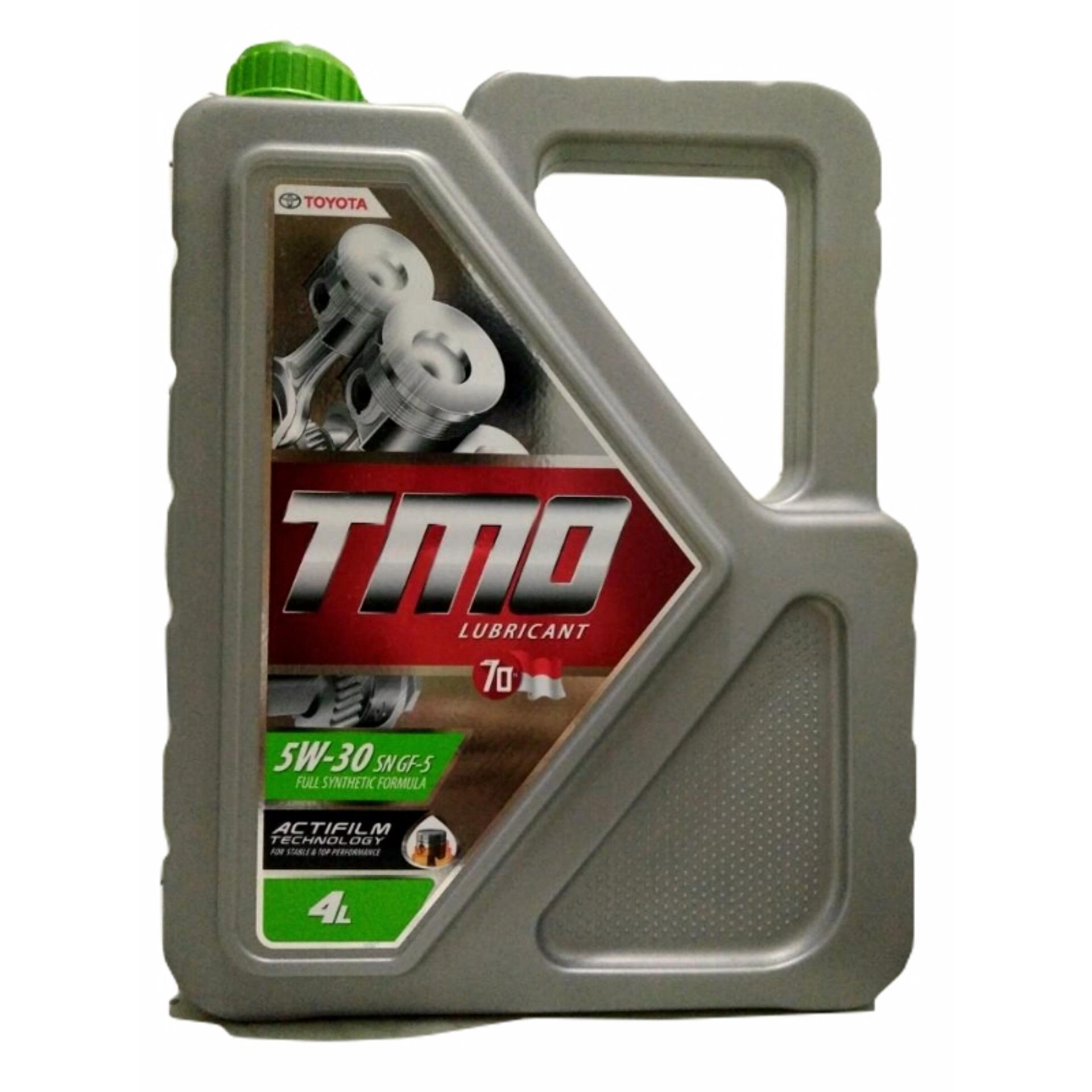 Toyota Motor Oil TMO Green 5w-30 4Liter Oli Mesin Mobil Original ATPM