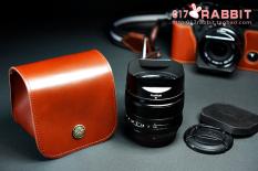 TP 18-55 Mm/60mm Kulit Asli Rajut Kamera Lensa Kamera Tas Kantong