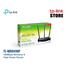 Beli Tp Link Tl Wr941Hp 450Mbps High Power Wireless N Router Tp Linkstore Tplinkstore Nyicil