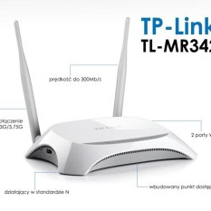 Kualitas Tp Link Tl Mr3420 Wireless N Router Portable 3G 4G Tp Link