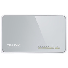 Harga Hemat Tp Link Tl Sf1008D 8 Port 10 100Mbps Desktop Switch Abu Abu