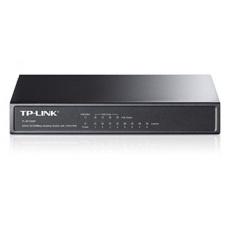 TP-LINK TL-SF1008P 10/100 Mbps 8-port Desktop PoE Switch, 4 POEports, IEEE 802.3af, 53 W, Dirancang untuk Kamera IP. -Intl