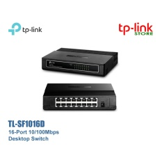 Miliki Segera Tp Link Tl Sf1016D 16 Port 10 100Mbps Desktop Switch Hitam