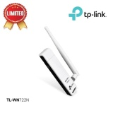 Tp Link Tl Wn722N 150Mbps High Gain Wireless Usb Adapter White Asli