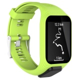 Pusat Jual Beli Tpe Wrist Band Watch Strap For Tomtom Runner 2 3 Petualang Golfer 2 Spark Spark 3 Watchbands Strap Gps Watch Tiongkok