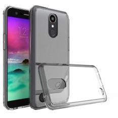 TPU + Acrylic Clear Cover Pelindung Case untuk LG K20 PLUS LG K10 2017 BK-Intl