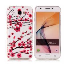 Casing TPU untuk Samsung Galaxy J5 Prime Bercahaya Plum Blossom Di Malam Yang Gelap-Intl