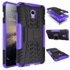 TPU + Hard Back Case Cover untuk Lenovo VIBE P1 Smartphone (Ungu) (...)-Intl