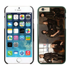 TPU Hard Plastic Moncler for iPhone 6 Plus (Multicolor) - intl