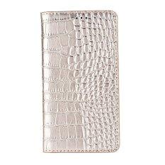 TPU Kulit Case Penutup Ponsel Kulit dengan Slot Kartu untuk Nubia Z17 MINI GOLD-Intl