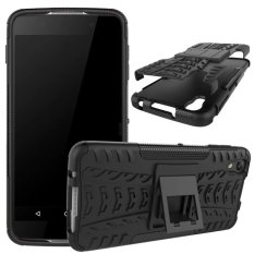TPU + PC Armor Hybrid Case Cover untuk Alcatel Idol 4-Intl