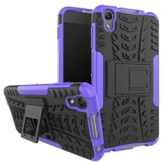 TPU + PC Armor Hybrid Case Cover for Alcatel Idol 4 - intl