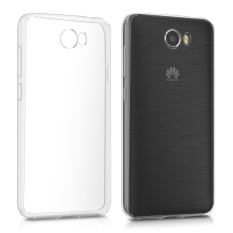 TPU Soft Case Crystal Clear Kulit Transparan Back Cover untuk Huawei Y5 II (2016)-Intl