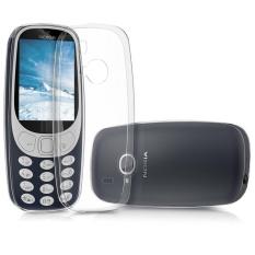 TPU Lembut Sarung Bening Jernih Kulit Transparan Penutup Belakang untuk Nokia 3310 (2017)-Intl