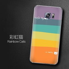TPU Lembut Telepon Case untuk Samsung Galaksi S6 Sisi/S6 Sisi Plus (Warna-warni)-Internasional