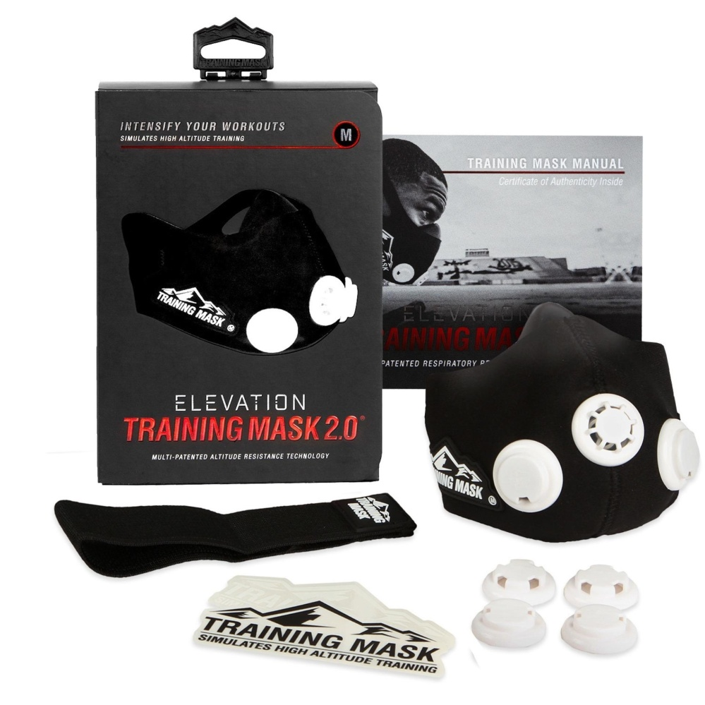 Training Mask Elevation 2 Hitam Original