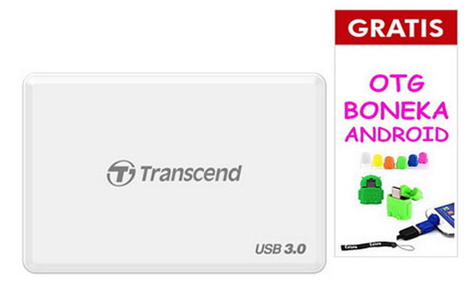 Toko Transcend Card Reader Rdf 8 Putih Free Bonus Yang Bisa Kredit