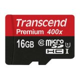 Promo Transcend Micro Sdhc 16Gb Class10 Card Uhs 1 400X Up To 60Mb S Non Adapter Hitam Transcend