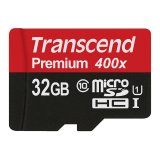 Toko Transcend Micro Sdhc 32Gb Class10 Card Uhs 1 400X Up To 60Mb S Non Adapter Hitam Online Terpercaya