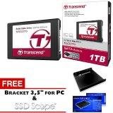 Toko Transcend Ssd Sata Iii 6Gb S Ssd370 1Tb Premium Hitam Gratis Bracket 3 5 For Pc Software Ssd Scope Terlengkap