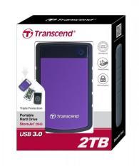 Harga Transcend Storejet 25H3P 2Tb Harddisk External Purple Termurah