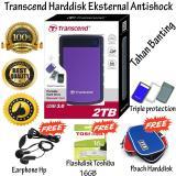 Review Transcend Storejet Harddisk Eksternal Antishock Tahan Banting 25H3 2Tb Ungu Gratis Flashdisk 16Gb Toshiba Usb 2 Pouch Harddisk Earphone Hp Transcend Di Dki Jakarta