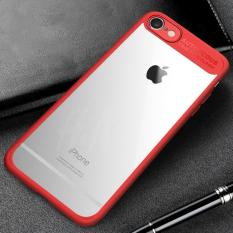 Transparent Full Protective Hardcase for iPhone 7 Plus / 8 Plus - Red