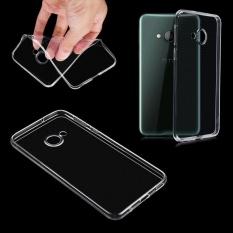 Transparan Slim TPU Gel Rubber Case Cover Kulit untuk HTC U Play Wearproof-Intl