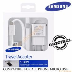 Travel Charger Samsung 10.6 Original Packing New Kabel Micro USB