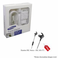 Harga Travel Charger Samsung Acc 15W 2A With Usb Cable Free Headset Asli Samsung Accessories