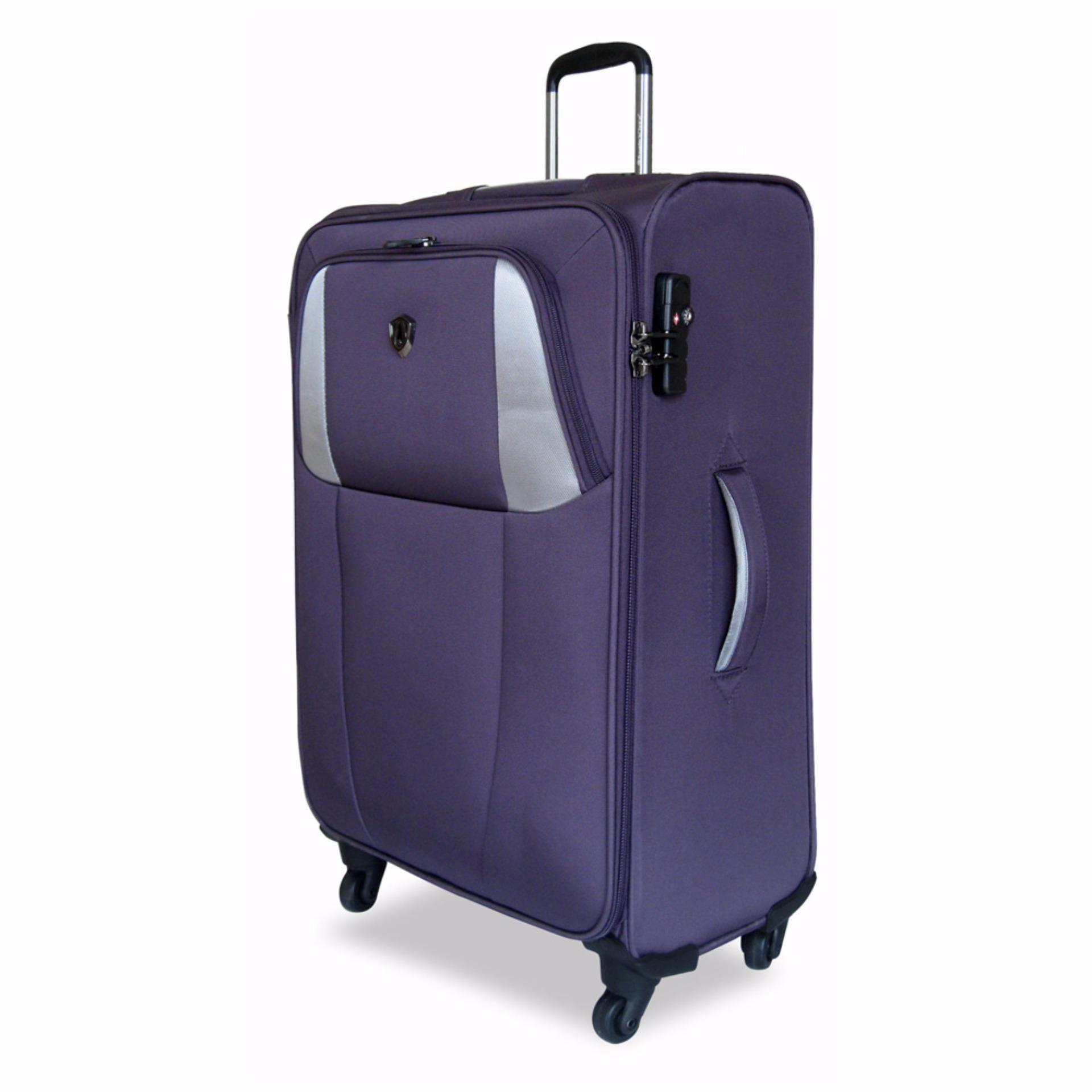 Traveler S Choice Forsa Us Softcase Large 31 Inch Purple Traveler S Choice Diskon 40