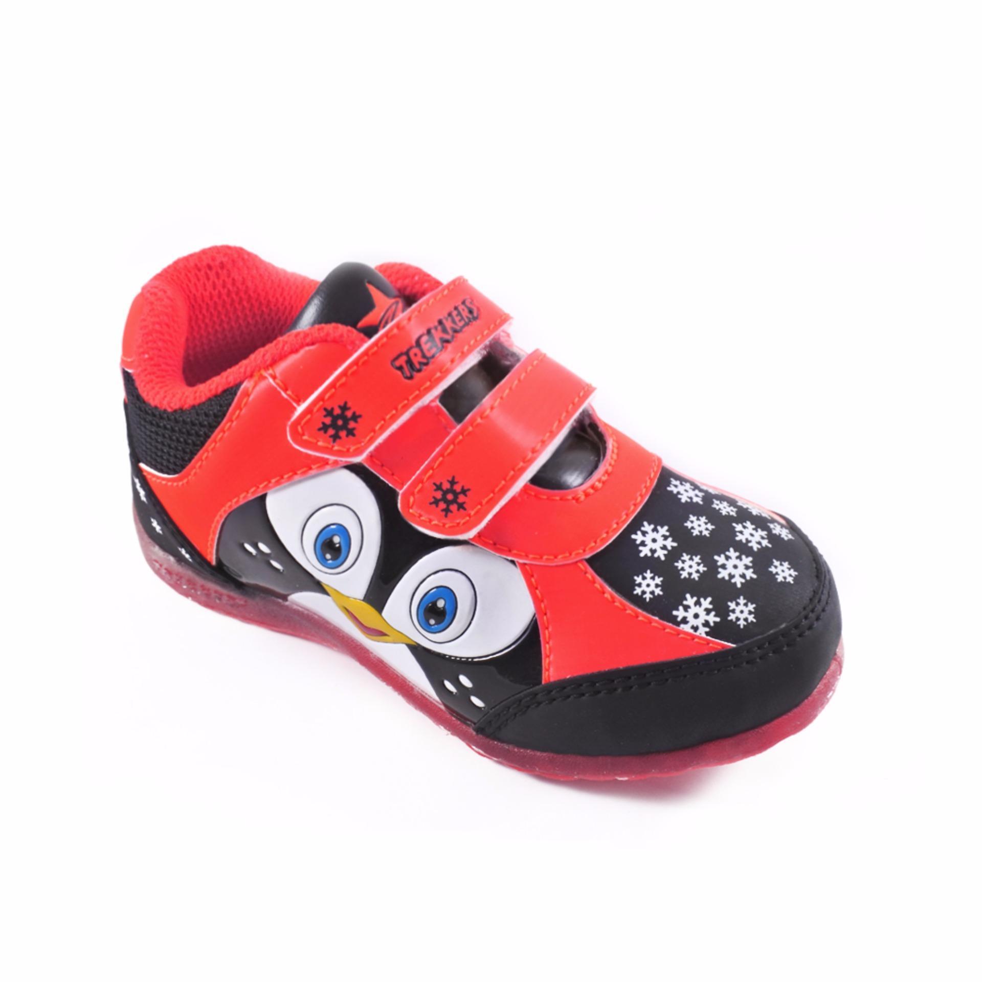 Trekkers Jb Bellagio 2 Sepatu Olahraga Laki Laki Warna Merah ... 377b4e5386