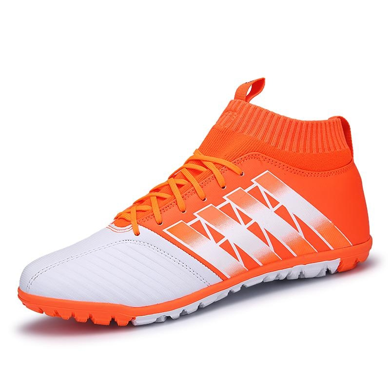 Beli Tren Baru Non Slip Tinggi Untuk Membantu Sepatu Sepak Bola Pria Fashion Anak S Sports Training Sepatu Olahraga Sepatu Ukuran 33 44 Intl Cicil