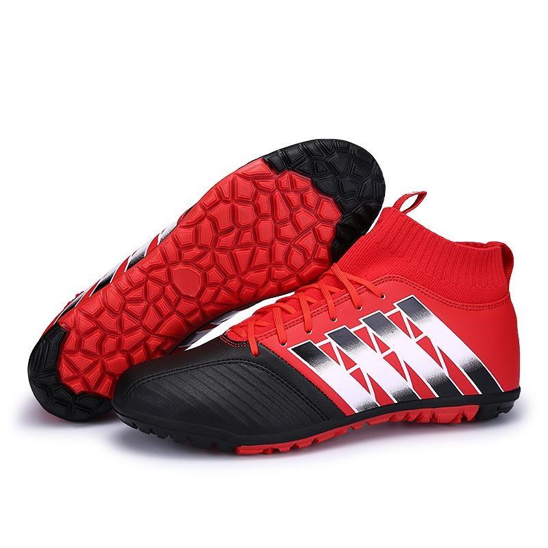 Spesifikasi Tren Baru Non Slip Tinggi Untuk Membantu Sepatu Sepak Bola Pria Fashion Anak S Sports Training Sepatu Olahraga Sepatu Ukuran 33 44 Intl Murah Berkualitas