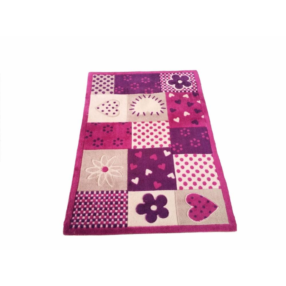 Tren-D-rugs - Karpet Karakter Printed Bulu Polyester Anak-anak Acrylic 80 cm x 120 cm - Square - NMs