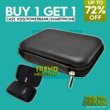 Spesifikasi Trend S Buy 1 Get 1 Hard Case Shockproof Tas Hardisk Powerbank Tahan Banting For External Hdd 2 5 Inch Pouch Bag Beli 1 Gratis 1 Trend S