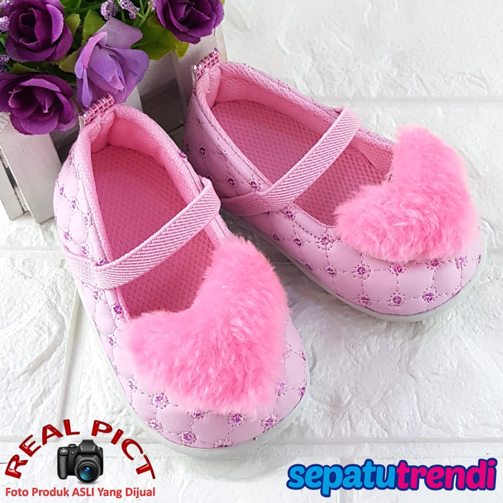 Model Trendi Sepatu Anak Bayi Perempuan Bllove Terbaru