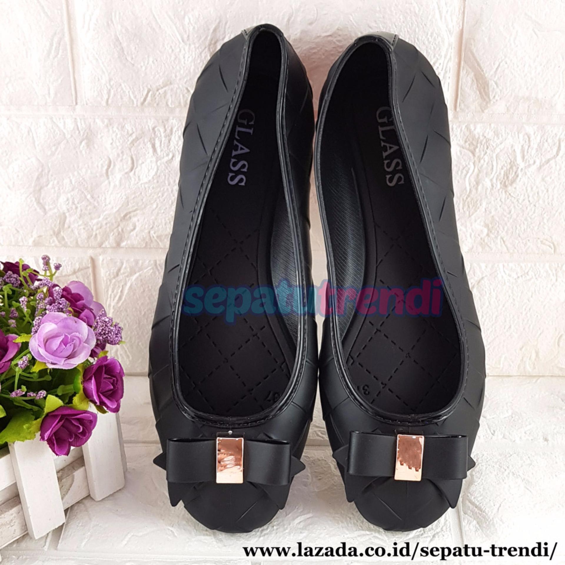 trendi sepatu wanita flat shoes jelly pita motif wajik jlflwj 1234 e32fde3ee94ac0f f8cee21